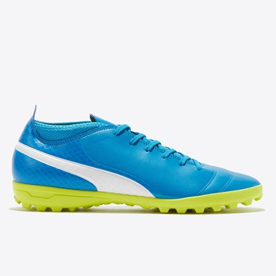 Puma One 17.4 Astroturf Trainers – Atomic Blue/White/Safety Yellow All items