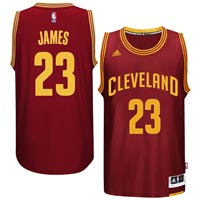 LeBron James Cleveland Cavaliers NBA Swingman Road Replica Jersey All items