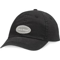 Life is Good Classic Ripstop Chill Cap (Night Black) All items