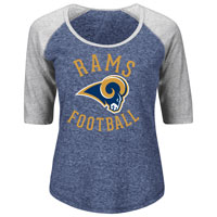 Los Angeles Rams Women's Act Like A Champion NFL T-Shirt All items