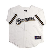 Milwaukee Brewers Majestic Child Home Replica Baseball Jersey All items