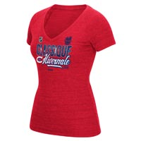 Montreal Canadiens 2016 NHL Winter Classic Women's Scribble Tri-Blend V-Neck All items