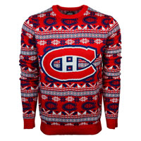 Montreal Canadiens NHL Big Logo Ugly Crewneck Sweater All items