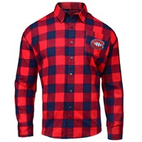 Montreal Canadiens NHL Large Check Flannel Shirt All items