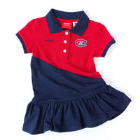 Montreal Canadiens Toddler Polo Dress All items