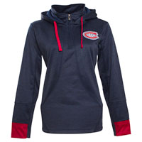 Montreal Canadiens Women's Annabelle 1/4 Zip Pullover Hoodie All items