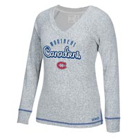 Montreal Canadiens Women's French Terry Comfy Crew All items