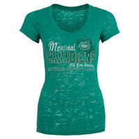 Montreal Canadiens Women's Kiara Burnout T-Shirt All items