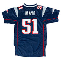 New England Patriots Jerod Mayo NFL Team Apparel Youth Limited Replica Football All items