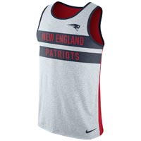 New England Patriots NFL Nike Stripe Tri-Blend Tank Top All items