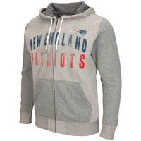 New England Patriots Safety Full Zip Hoodie All items
