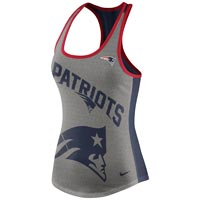 New England Patriots Women's Dri-FIT NFL Touchdown Racer Back Tank All items