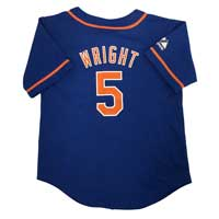 New York Mets David Wright Majestic Child Alternate Replica Baseball Jersey All items
