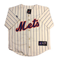 New York Mets Majestic Child Alternate Replica Baseball Jersey (Ivory) All items