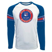 New York Rangers Face-Off FX Raglan Long Sleeve T-Shirt All items
