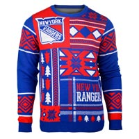 New York Rangers NHL 2015 Patches Ugly Crewneck Sweater All items