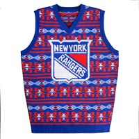 New York Rangers NHL 2015 Ugly Knit Vest Sweater All items