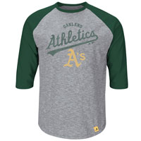 Oakland Athletics Fast Win 3 Quarter Sleeve T-Shirt All items