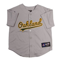 Oakland Athletics Majestic Child Road Replica Baseball Jersey All items