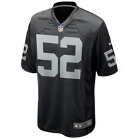 Oakland Raiders Khalil Mack NFL Nike Team Jersey All items