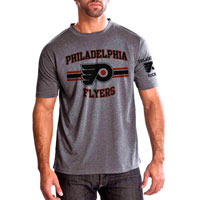 Philadelphia Flyers Bar Stripe Performance FX T-Shirt (Heather Pepple) All items