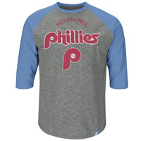 Philadelphia Phillies Cooperstown Don't Judge 3/4 Raglan T-Shirt All items