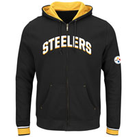 Pittsburgh Steelers Anchor Point Full Zip NFL Hoodie All items