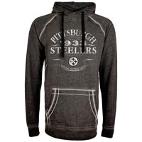 Pittsburgh Steelers NFL Acid Washed Emblem Hoodie All items