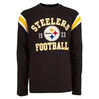 Pittsburgh Steelers NFL Lateral Felt Applique Long Sleeve Jersey T-Shirt All items