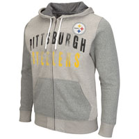 Pittsburgh Steelers Safety Full Zip Hoodie All items