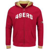 San Francisco 49ers Anchor Point Full Zip NFL Hoodie All items