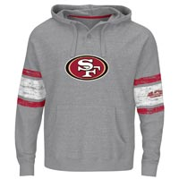 San Francisco 49ers Winning Method NFL Hoodie (Gray Gnarly) All items