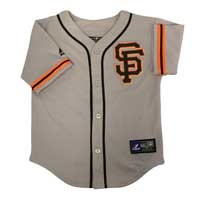 San Francisco Giants Majestic Child Road Replica Baseball Jersey All items