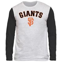 San Francisco Giants Shortstop Long Sleeve Tri-Blend T-Shirt All items
