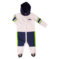 Seattle Seahawks Baby Runner Long Sleeve Coverall/Onesie All items