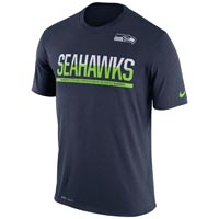 Seattle Seahawks NFL Nike Team Practice Light Speed Dri-FIT T-Shirt All items