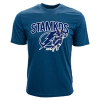 Tampa Bay Lightning Steven Stamkos NHL Action Pop Applique T-Shirt All items