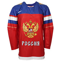 Team Russia IIHF 2016-17 Official Twill Replica Hockey Jersey All items