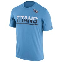 Tennessee Titans NFL Nike Team Practice Light Speed Dri-FIT T-Shirt All items