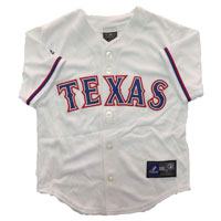 Texas Rangers Majestic Child Home Replica Baseball Jersey All items