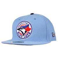 Toronto Blue Jays Authentic Fitted MLB Baseball Cap (Sky Blue) All items