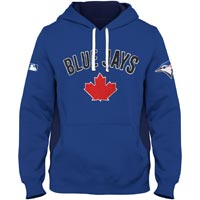 Toronto Blue Jays Chenille Crest Pinch Hit Hoodie All items