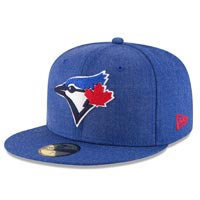 Toronto Blue Jays Heather Crisp 59Fifty Fitted MLB Baseball Cap All items