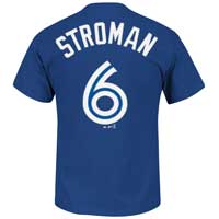 Toronto Blue Jays Marcus Stroman YOUTH MLB Player Name & Number T-Shirt All items