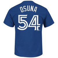 Toronto Blue Jays Roberto Osuna MLB Player Name & Number T-Shirt All items