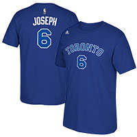 Toronto Huskies Cory Joseph NBA Name & Number T-Shirt – Blue All items