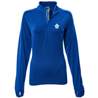 Toronto Maple Leafs Women's Pacer Team Script 1/4 Zip  Pullover All items