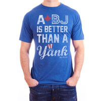 True Rivalry A BJ Is Better Than A Yank T-Shirt All items