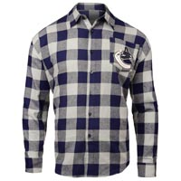 Vancouver Canucks NHL Large Check Flannel Shirt All items