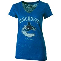 Vancouver Canucks Women's Valerie Burnout T-Shirt All items